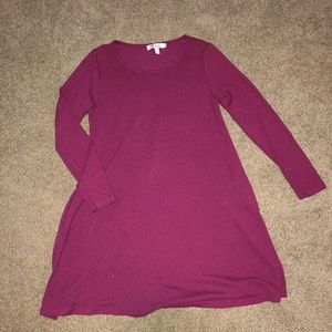 Aryeh Pink Sweater Dress